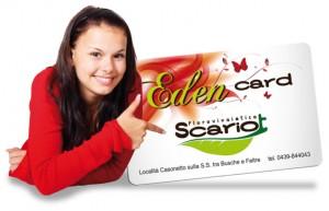 Eden Card Vivaio Scariot